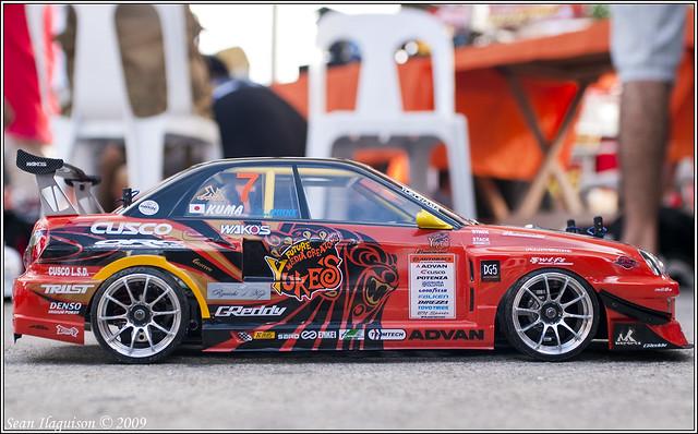 1 10 Scale Subaru Impreza Wrx Sti Team Orange Drift Racer
