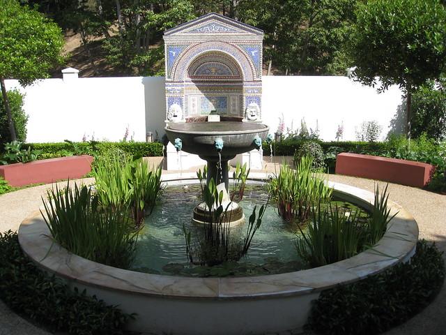 East Garden Getty Villa Flickr Photo Sharing