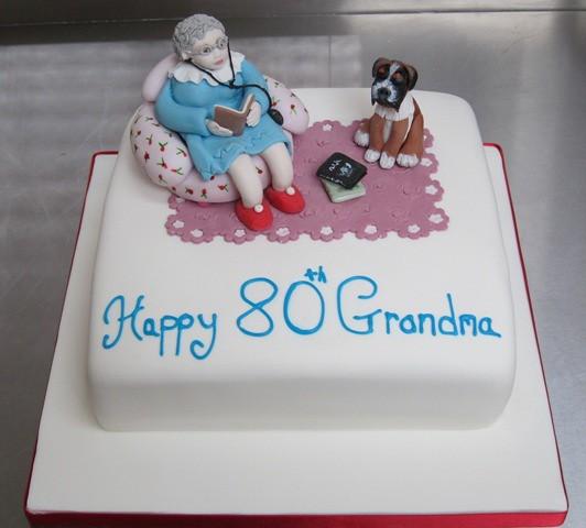 Grandma We Love You Cake