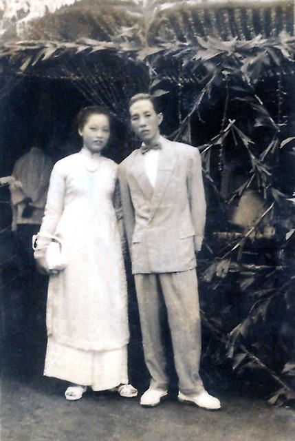 dam cuoi ba ma ngoc - Vinh Chau Bac Lieu 1954