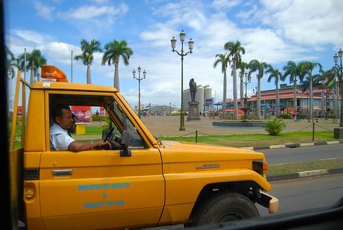 world street yellow punk candid indianocean streetphotography images palmtrees toyota mauritius karoline islandlife portlouis toyotalandcruiser explored nikond80 conquestfordeath karolinecollins theroadiegirl punksontour islandofmauritius maintenancetruck