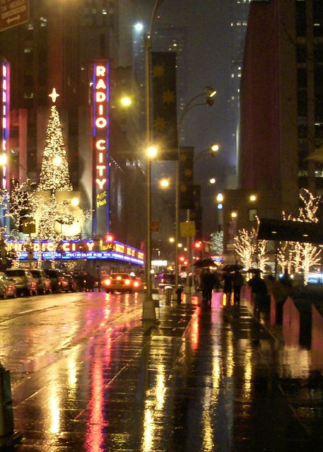 radio city holiday rain