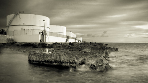 ocean sunrisesunset caymanislands fueltanks ryangoodman camerapornnet