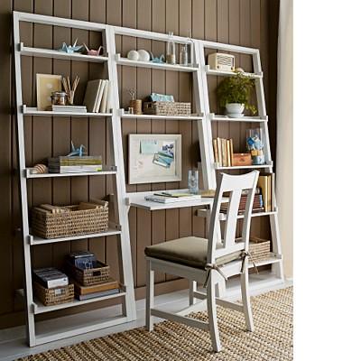 Sloane Leaning Bookshelf and Desk | Flickr - Photo Sharing!