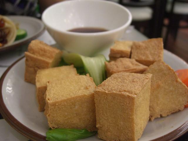 炸豆腐 Deep Fried Tofu - Ten Ren Tea   Flickr - Photo Sharing!