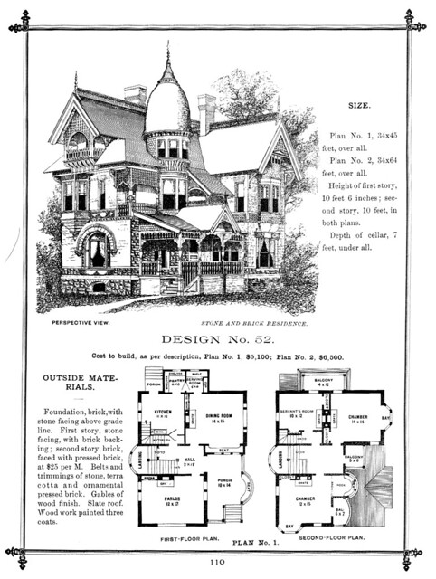 G f barber house design flickr photo sharing - Large victorian house plans ideas ...