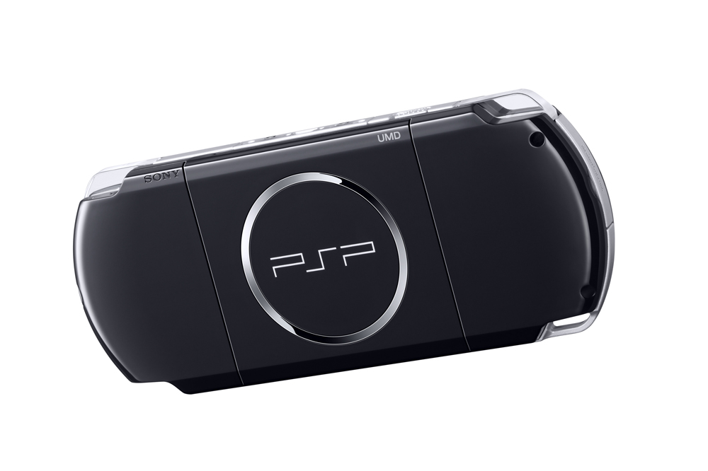 Psp 3000 Piano Black Psp 3000 Piano Black Back