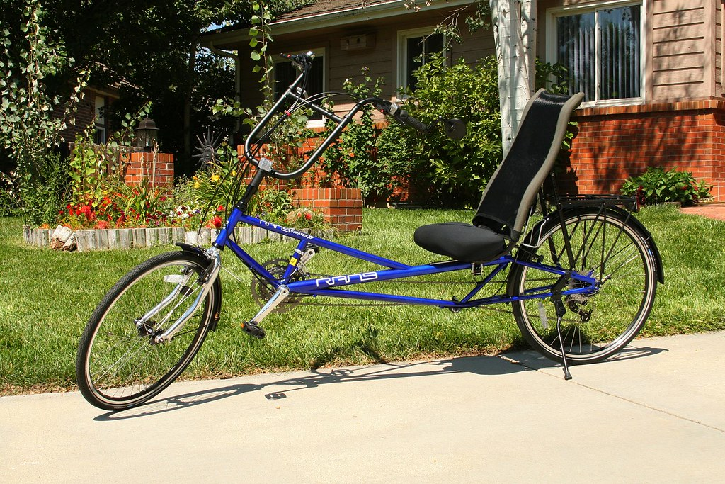 My Rans Stratus XP recumbent bicycle