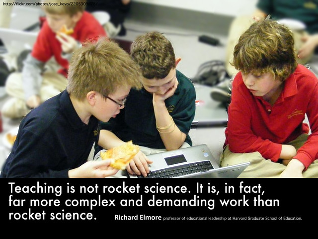 Teaching is not Rocket Science