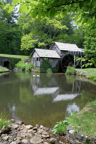 virginia may parks explore nationalparks mills blueridgeparkway 2007 patrickcounty mabrymill may2007 virginiamountains