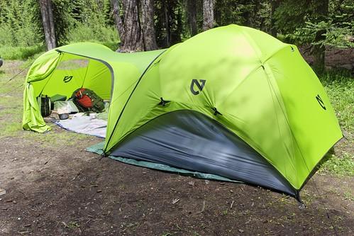 Big Tent Garages : Tents with quot livable vestibules for kermit chairs e t c