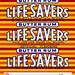LifeSavers roll wrapper - Butter Rum - 1950s by JasonLiebig