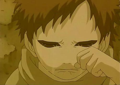 gaara kid crying - photo #6