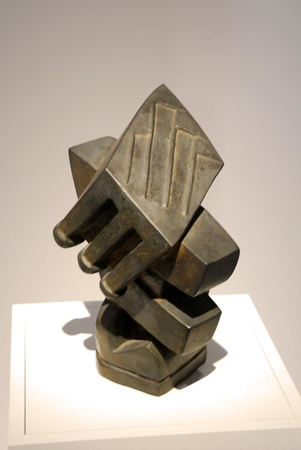 Giacometti - cubist sculpture from the exhibition at the ...