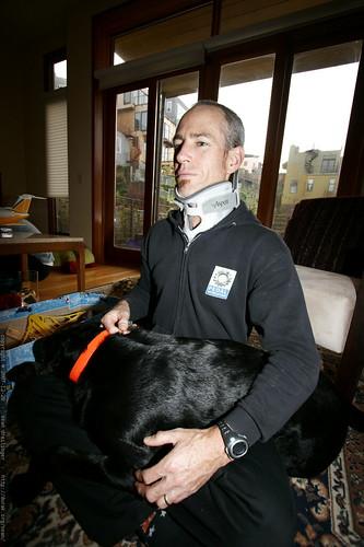 a man and his dog    MG 8300