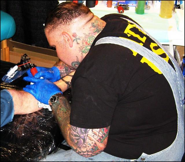 Tattoo Artist - Bubba - Electric 13
