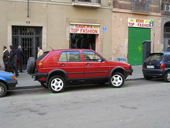 automobile, sport utility vehicle, vehicle, volkswagen golf mk2, city car, land vehicle, hatchback,