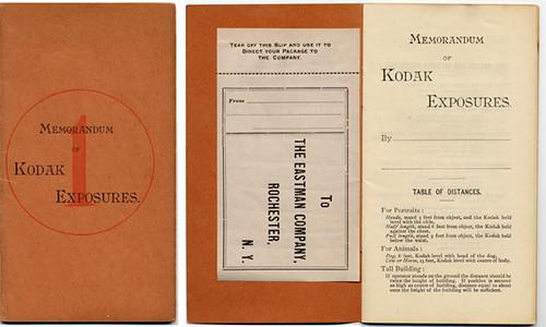 Memorandum of Kodak Exposures