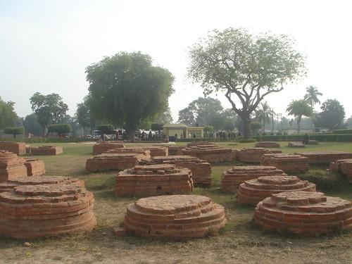 Ashoka Pillar阿育王石柱遺跡1-4