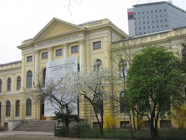 "The Museum of Natural History ""Grigore Antipa"", Bucharest, Romania"
