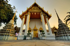 Wat Pho buddhist temple