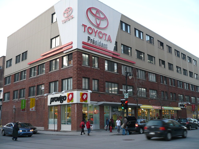 A Provigo supermarket in downtown Montreal.