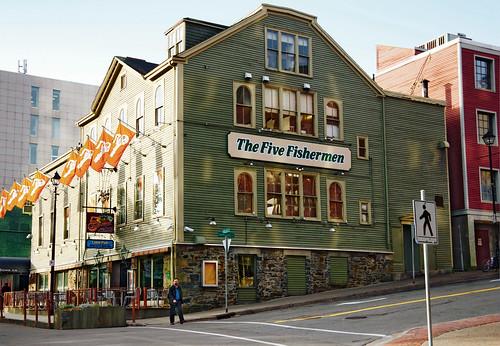 The Five Fishermen Building (1816), 1740 Argyle Street, Halifax, Nova Scotia, Canada