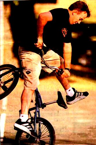 Flatland Freestyle In Texas, UNT Denton 1999 by George TenEyck Photography