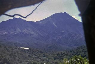 Mt. Taranaki from The Beehives, New Zealand, 1970