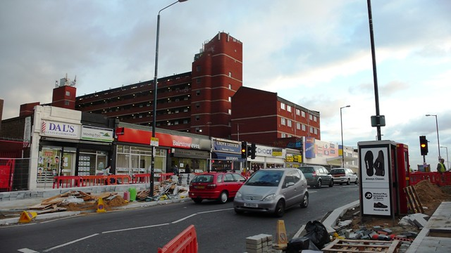 The shopping centre, Dagenham Heathway