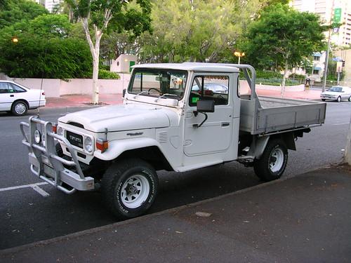 Classy Toyota Landcruiser Ute - Brisbane