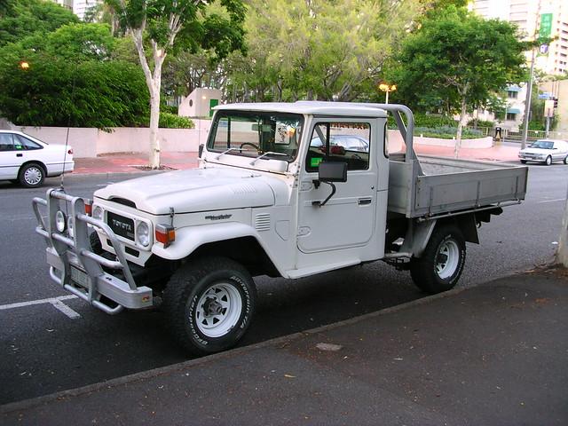 Classy Toyota Landcruiser Ute Brisbane Flickr Photo
