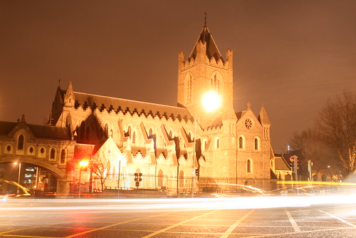 Christ Church Light Trails