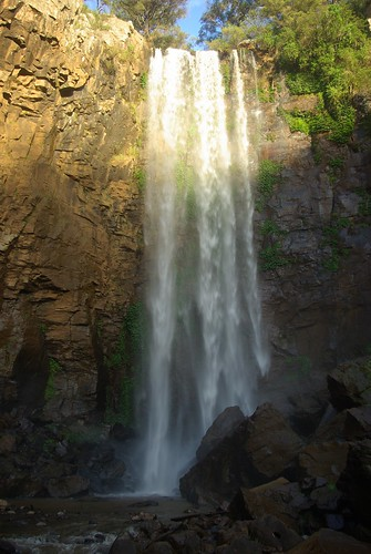waterfall main mary falls queen range