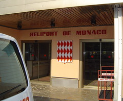 Monaco, Fontvieille heliport terminal