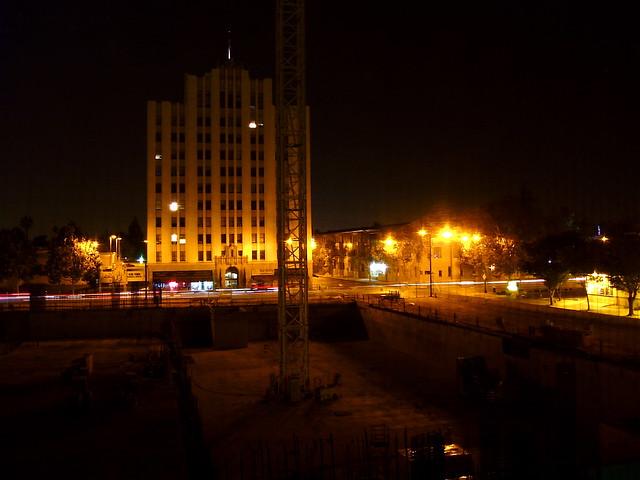 San Jose at night:
