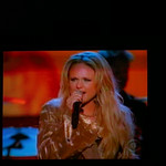 Miranda Lambert singing Gunpowder and Lead