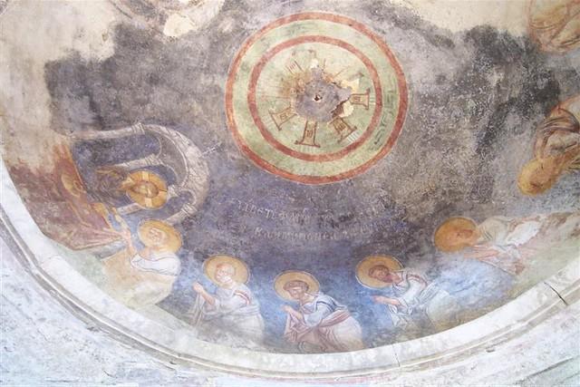 Frescos conservados en la iglesia de San Nicolás Santa Claus y su vida en Turquía - 2512711401 dfd11fd3c1 z - Santa Claus y su vida en Turquía