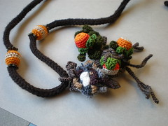 Nest ... Freeform Crochet Necklace