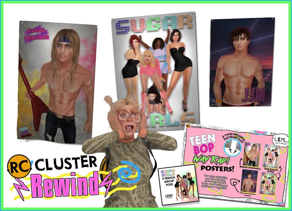 -RC- Cluster at Rewind - SecondLifeHub.com