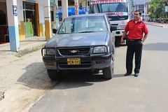 Alcalde gestiona Vehículo para bomberos de Canuto