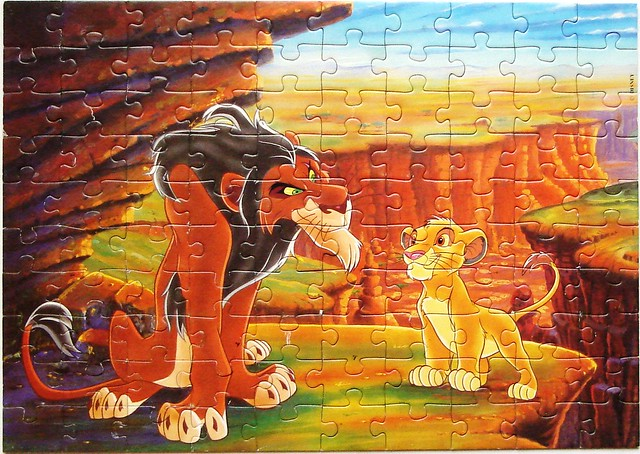 The Lion King - Simba and Scar