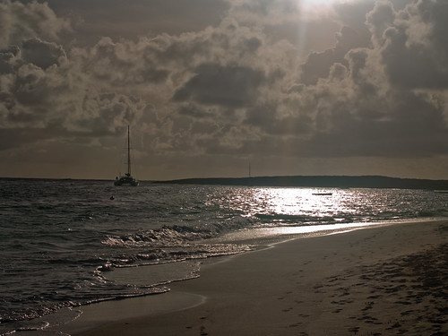 vacation beach sunrise stmartin sxm sintmaarten