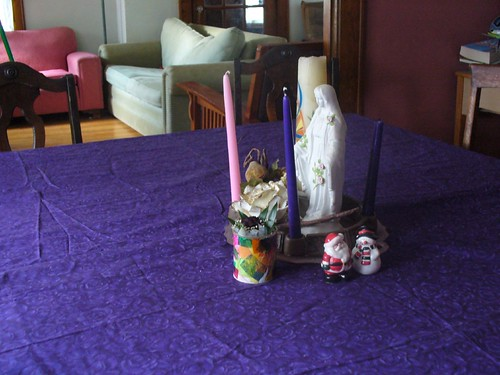An Advent Table