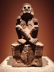 Statue of Xochipilli (From the National Museum of Anthropology, Mexico City)