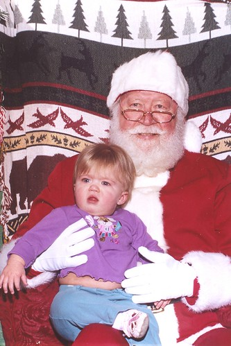 Cate's not sure what she thinks about Santa