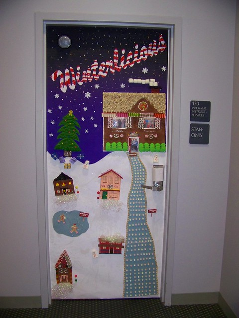 Office Door Decorating Contest Ideas http://www.flickr.com/photos/spike55151/2112010601/