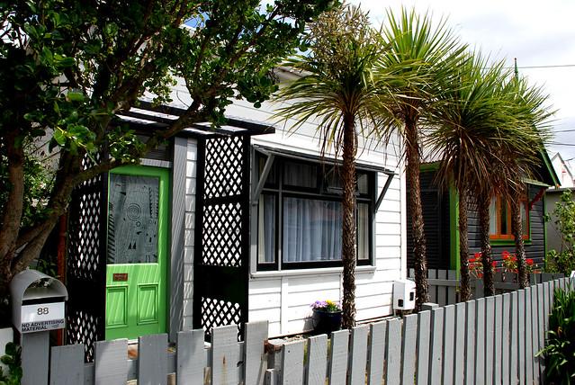 Z Newtown Wellington Early 20C cottages, Ne...