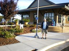 Marto at Rocklin Amtrak station