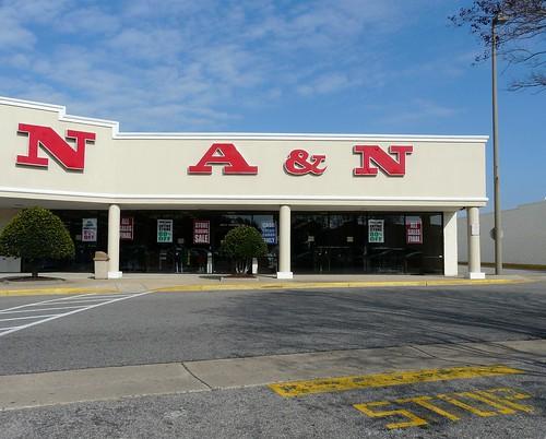 A&N near Lynnhaven Mall - Now Gone